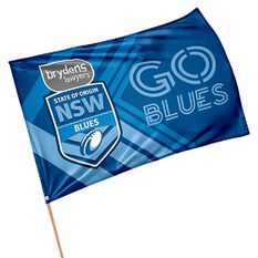 NSW Blues State of Origin 2019 Game Day Flag, , rebel_hi-res