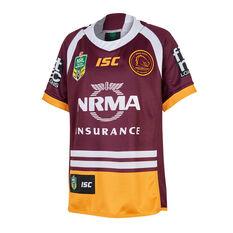 Brisbane Broncos 2018 Youth Home Jersey, , rebel_hi-res