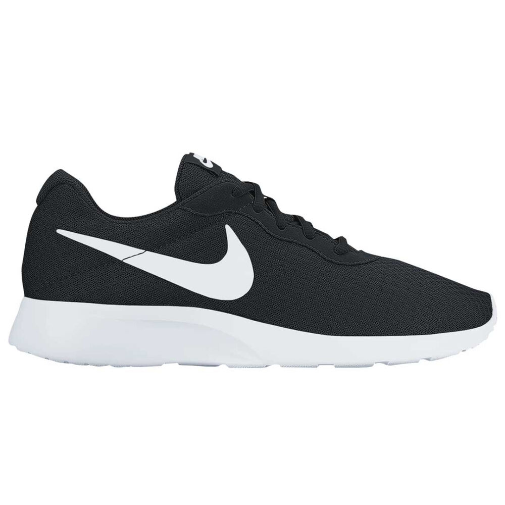 performance sportswear run shoes latest fashion Nike Tanjun Mens Casual Shoes Black / White US 8 | Rebel Sport