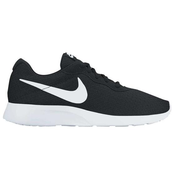 Nike Tanjun Mens Casual Shoes, Black / White, rebel_hi-res