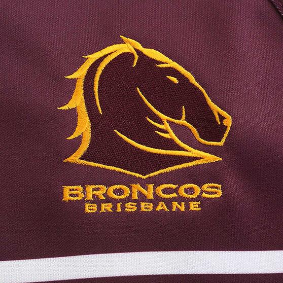 Brisbane Broncos 2020 Mens Home Jersey, Maroon, rebel_hi-res