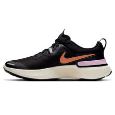 Nike React Miler Womens Running Shoes Black US 6, Black, rebel_hi-res