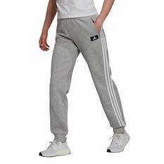 adidas Womens Sportswear Future Icons 3-Stripes Pants Grey XS, Grey, rebel_hi-res