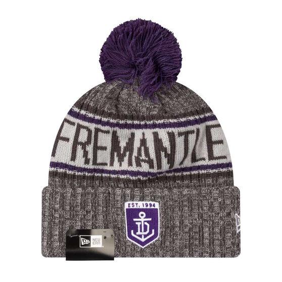 Fremantle Dockers New Era 6 Dart Cuff Beanie, , rebel_hi-res