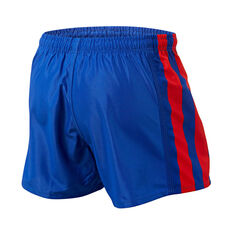 Newcastle Knights Mens Home Supporter Shorts Blue S, Blue, rebel_hi-res