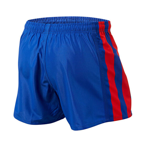 Newcastle Knights Mens Home Supporter Shorts, Blue, rebel_hi-res