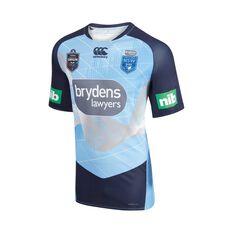 NSW Blues State of Origin 2018 Mens Elite Light Blue Tee, , rebel_hi-res