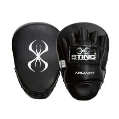 Sting Armafit Focus Mitt Black, , rebel_hi-res