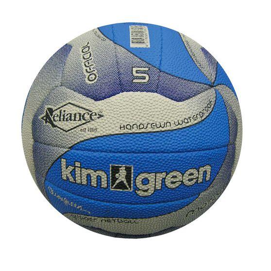 Reliance Kim Green Training Netball Denim 4, Denim, rebel_hi-res