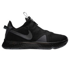 Nike PG 4 Mens Basketball Shoes Black/Grey US 7, Black/Grey, rebel_hi-res