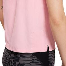 Nike Air Womens Running Tank, Pink, rebel_hi-res