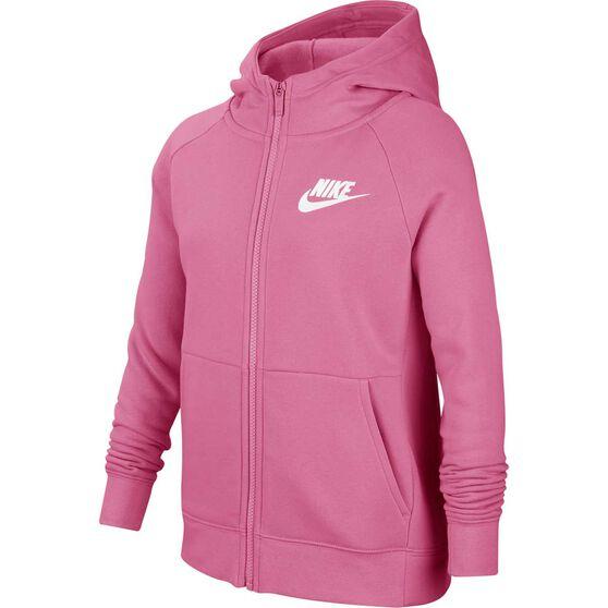 Nike Air Girls Full-Zip Hoodie, , rebel_hi-res