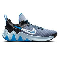 Nike Giannis Immortality Basketball Shoes Ash US 7, Ash, rebel_hi-res