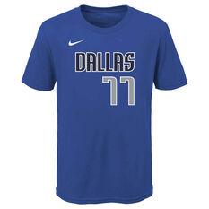 Nike Dallas Mavericks Luka Doncic 2020/21 Kids Statement Tee, , rebel_hi-res