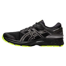 Asics GEL Kayano 26 Liteshow 2.0 Mens Running Shoes Black US 7, Black, rebel_hi-res