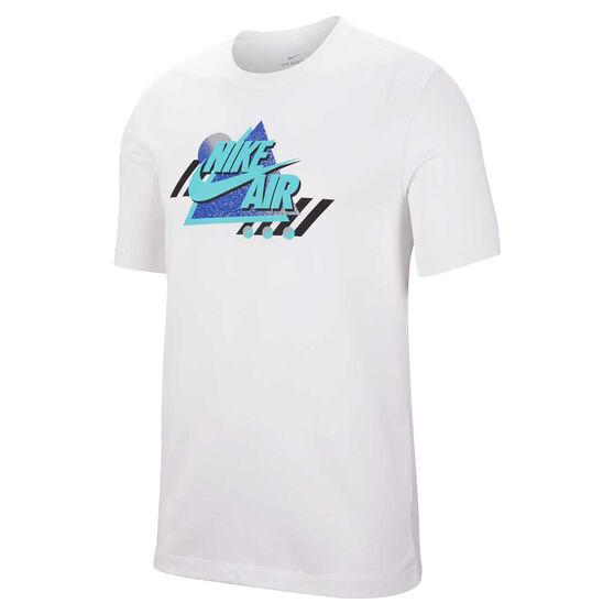 Nike Mens Sportswear Remix Tee White XS, White, rebel_hi-res