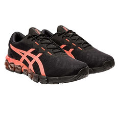 Asics GEL Quantum 180 5 Mens Training Shoes Black/Red US 7, Black/Red, rebel_hi-res
