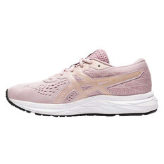Asics GEL Excite 7 Kids Running Shoes Pink/Gold US 4, Pink/Gold, rebel_hi-res