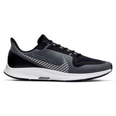 Nike Air Zoom Pegasus 36 Shield Mens Running Shoes Grey / Silver US 7, Grey / Silver, rebel_hi-res