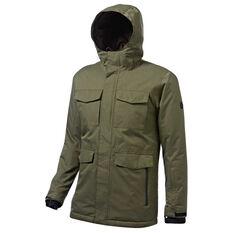 Tahwalhi Mens Jasper Ski Jacket Khaki S, Khaki, rebel_hi-res