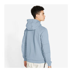 Nike Mens Sportswear Club Fleece Full-Zip Hoodie Blue XS, Blue, rebel_hi-res