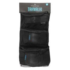 Tahwalhi 3 Piece Safety Pads Black XS, Black, rebel_hi-res