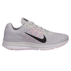 Nike Zoom Winflo 5 Womens Running Shoes Grey / Black US 6, Grey / Black, rebel_hi-res