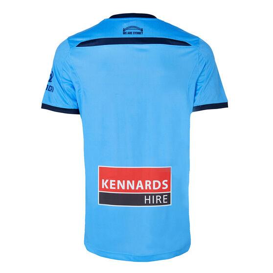 Sydney FC 2019/20 Mens Home Jersey, Blue, rebel_hi-res