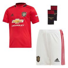 Manchester United 2019/20 Infants Home Kit Red 3, Red, rebel_hi-res