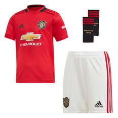 5a0c8254390 Manchester United 2019 20 Infants Home Kit Red 3