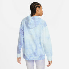 Nike Womens Icon Clash Pullover Hoodie Plus Print 1X, Print, rebel_hi-res