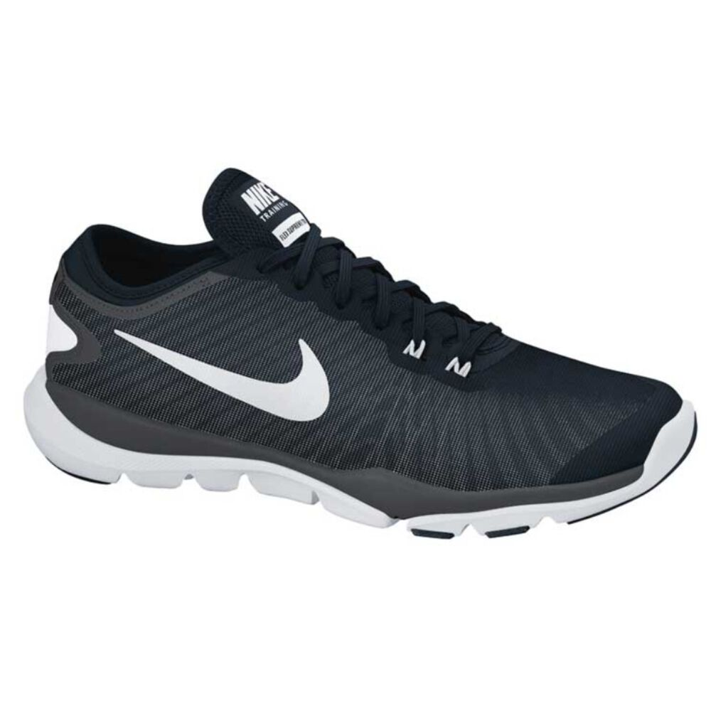 23082130d906 Nike Flex Supreme TR 4 Womens Cross Training Shoes Black   White US ...