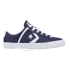 Converse Star Player Mens Casual Shoes Navy / White US 7, Navy / White, rebel_hi-res