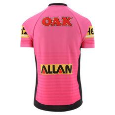 Penrith Panthers 2020 Mens Alternate Jersey Pink S, Pink, rebel_hi-res
