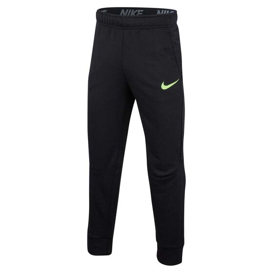 Nike Boys Dri-FIT Academy Football Pants Black / White S, Black / White, rebel_hi-res