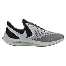 Nike Air Zoom Winflo 6 SE Mens Running Shoes Black / White US 7, Black / White, rebel_hi-res