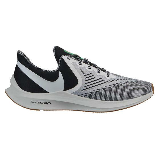 Nike Air Zoom Winflo 6 SE Mens Running Shoes, Black / White, rebel_hi-res