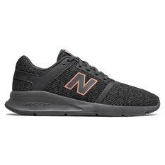 New Balance 24v2 Womens Casual Shoes Black / Grey US 6, Black / Grey, rebel_hi-res