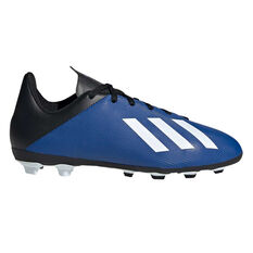 adidas X 19.4 Kids FXG Football Boots Blue / White US 11, Blue / White, rebel_hi-res
