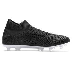 Puma Future 19.1 Netfit Mens Football Boots Black US Mens 7 / Womens 8.5, Black, rebel_hi-res