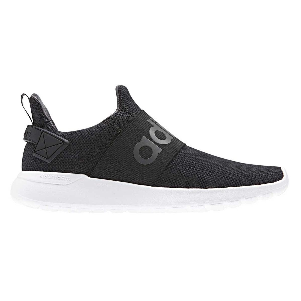 adidas cloudfoam lite racer adattare le scarpe casual nero / grigio noi uomini