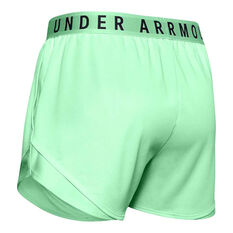 Under Armour Womens Play Up 3.0 Twist Shorts Green XS, Green, rebel_hi-res