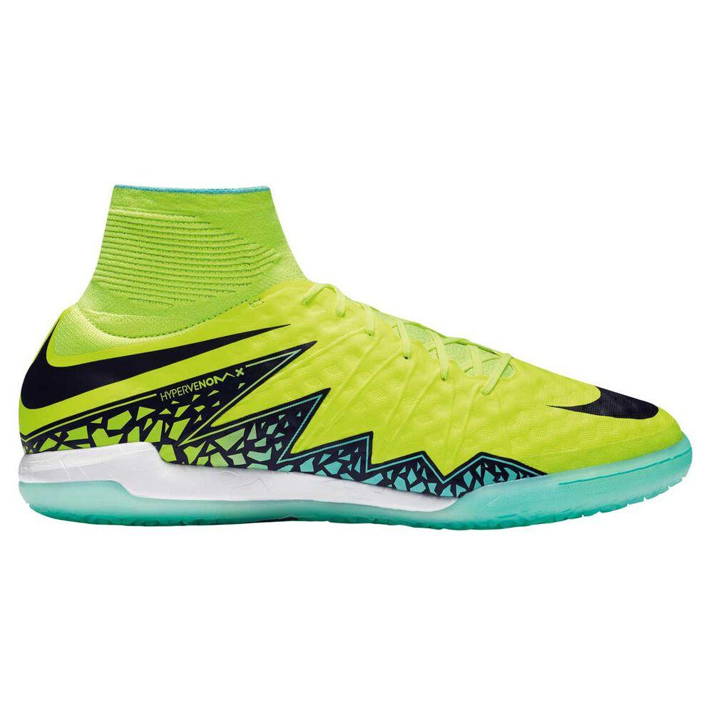 best loved 4f981 8d85f Nike HypervenomX Proximo Mens Indoor Soccer Shoes Volt   Black US 10 Adult,  Volt