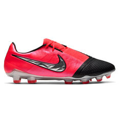 Nike Phantom Venom Elite Football Boots Black / Red US Mens 4 / Womens 5.5, Black / Red, rebel_hi-res