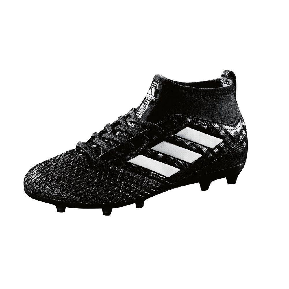adidas ACE 17.3 Primemesh Junior Football Boots Black   White US 3 Junior 8e9f839bc4e0