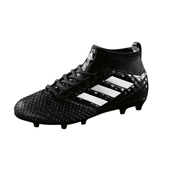 newest collection 2e5a4 25643 adidas ACE 17.3 Primemesh Junior Football Boots Black / White US 1 Junior