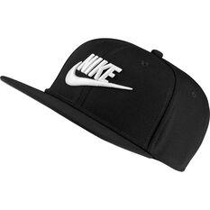 Nike Pro Boys Futura Cap Black / White OSFA, Black / White, rebel_hi-res