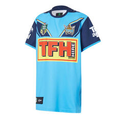 Gold Coast Titans 2018 Youth Home Jersey, , rebel_hi-res
