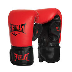 Everlast Tempo Bag Boxing Gloves Red / Black S / M, Red / Black, rebel_hi-res