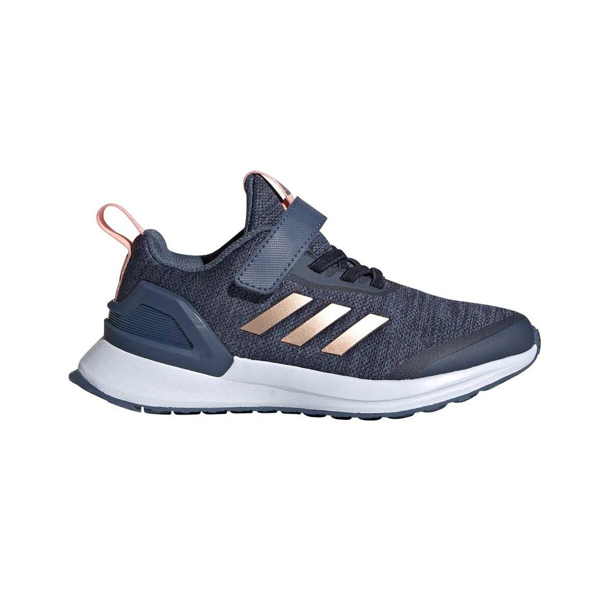 adidas RapidaRun X Kids Running Shoes Blue Pink US 12